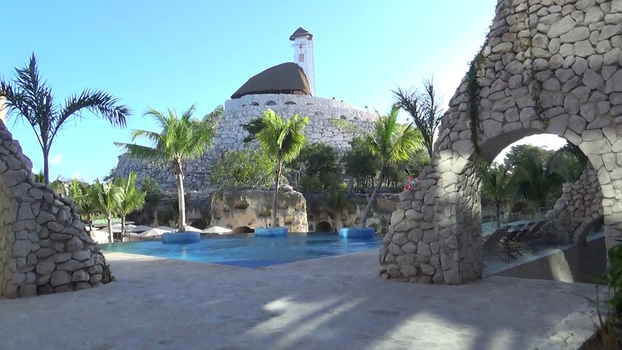 Hotel Xcaret Mexico Main Pool To Espiral