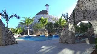 Hotel Xcaret Mexico Main Pool to Espiral Pool