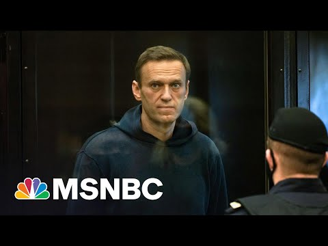 Buoyed By Nationwide Protests, Russian Opposition Leader Navalny Ends Hunger Strike | Rachel Maddow