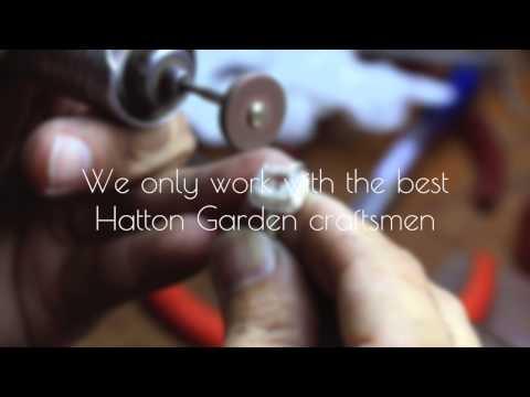 Creating Bespoke Rings in Hatton Garden