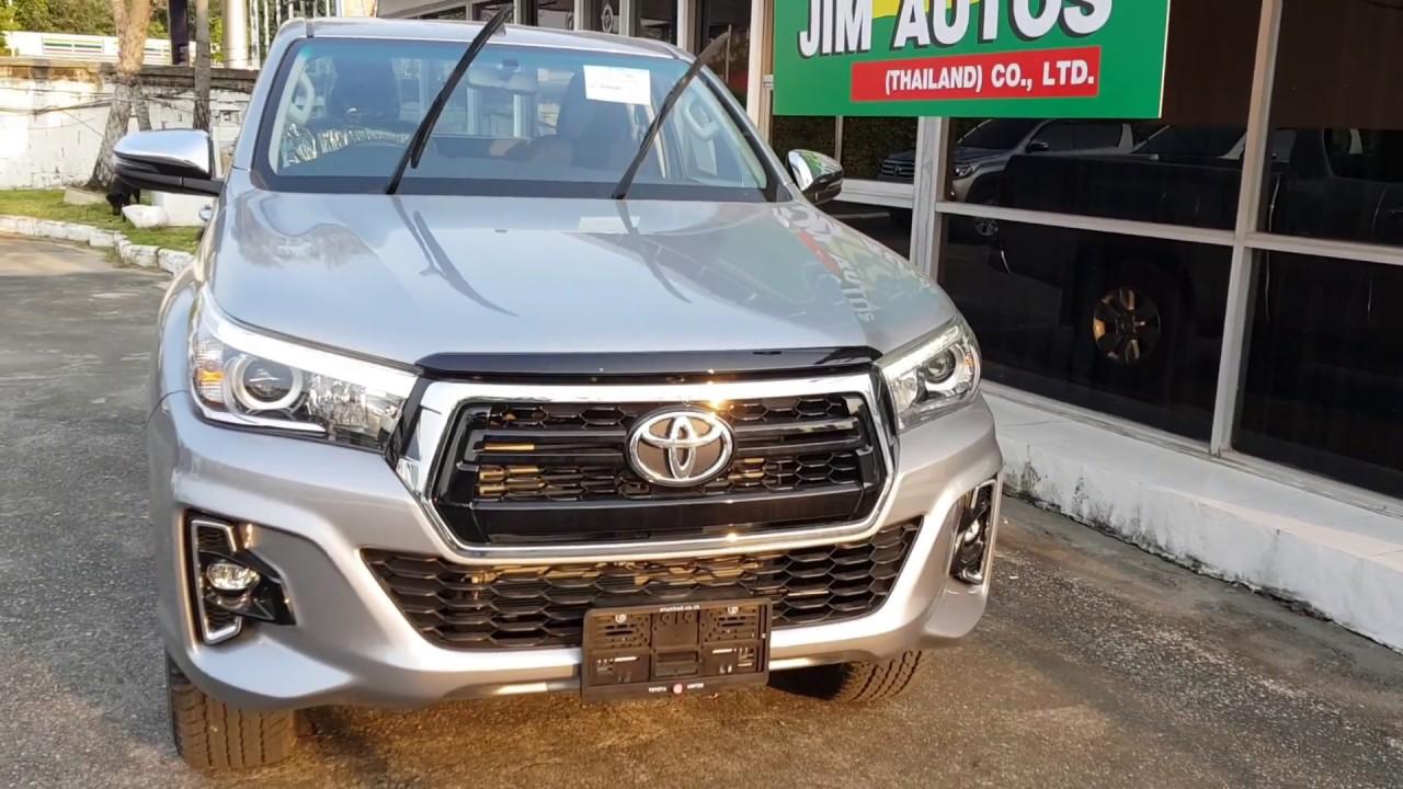2018 Toyota Hilux Revo Facelift 2019 Silver Smart Cab Sale