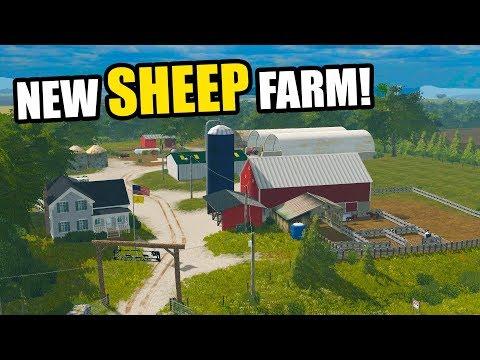 WE BOUGHT A NEW FARM AT AN AUCTION | EP#48 | FARMING SIMULATOR 2017