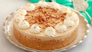 No-Bake Dulce De Leche Cheesecake - Gemma's Bigger Bolder Baking Ep 141