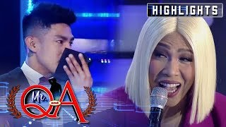 Vhong tips off Vice that someone sat on Ion's lap | It's Showtime Mr Q and A