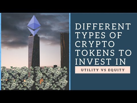 Crypto Basics #1: Utility Tokens vs Equity Tokens, know the difference!