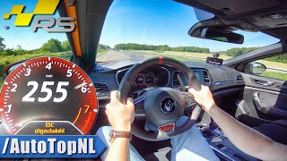 Renault Megane RS 280 EDC | 255km/h TOP SPEED on AUTOBAHN (No Speed Limit) by AutoTopNL