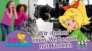 Bibi Blocksberg  Wie KIDDINX einen TV Werbespot für Hörspiele  mit Kindern dreht!