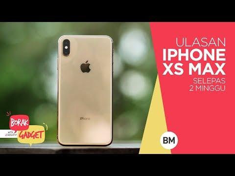 iPhone XS Max selepas 2 minggu #BorakGadget | smashpop