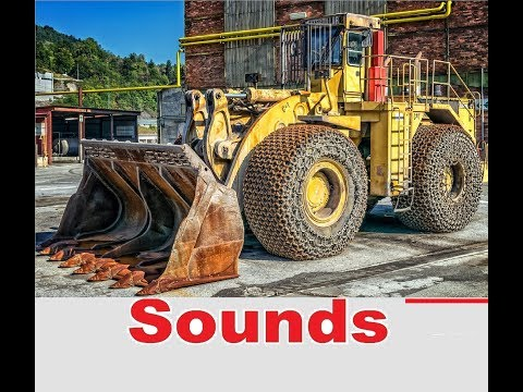 Construction Machinery Sound Effects All Sounds