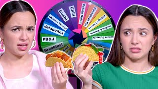 Mystery Wheel Taco Challenge - Merrell Twins