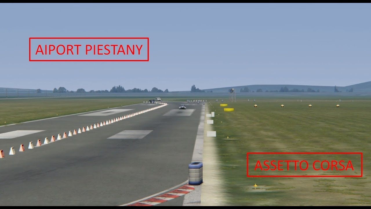 Assetto Corsa -Track mods #1- Airport Piestany