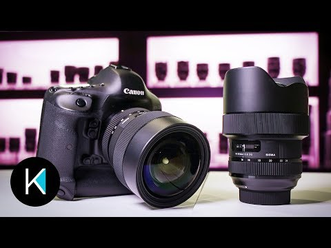 Sigma 14-24mm F2.8 FIRST LOOK at NAB 2018!