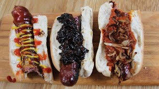 Hotdogs Done 3 Ways | The Craft Beer Channel