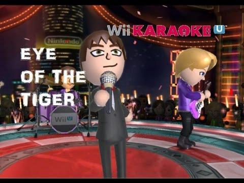 Wii Karaoke U |WiiU| Eye of the tiger (Survivor) [HD]