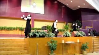 """My Testimony"" Marvin Sapp (Psalms 3 Mime Ministry)"