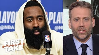 James Harden isn\'t worthy of 1st team All-NBA - Max Kellerman | First Take