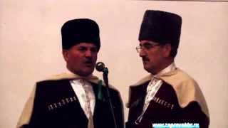 1763-1864 г.г. - русско-кавказская война в народных адыгских песнях.