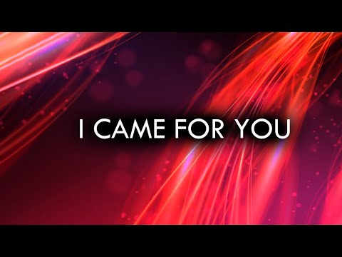 Planetshakers - I Came For You (Holy Spirit) - (Lyric video)