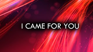 Planetshakers - I Came For You (Holy Spirit) - (Lyric)