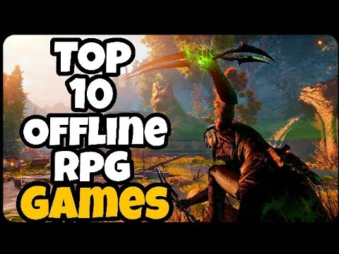 Top 10 OFFLINE RPG Games For Android/iOS 2017! (Part 1)