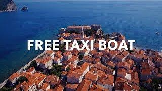 Dukley Taxi Boat / Budva, Montenegro