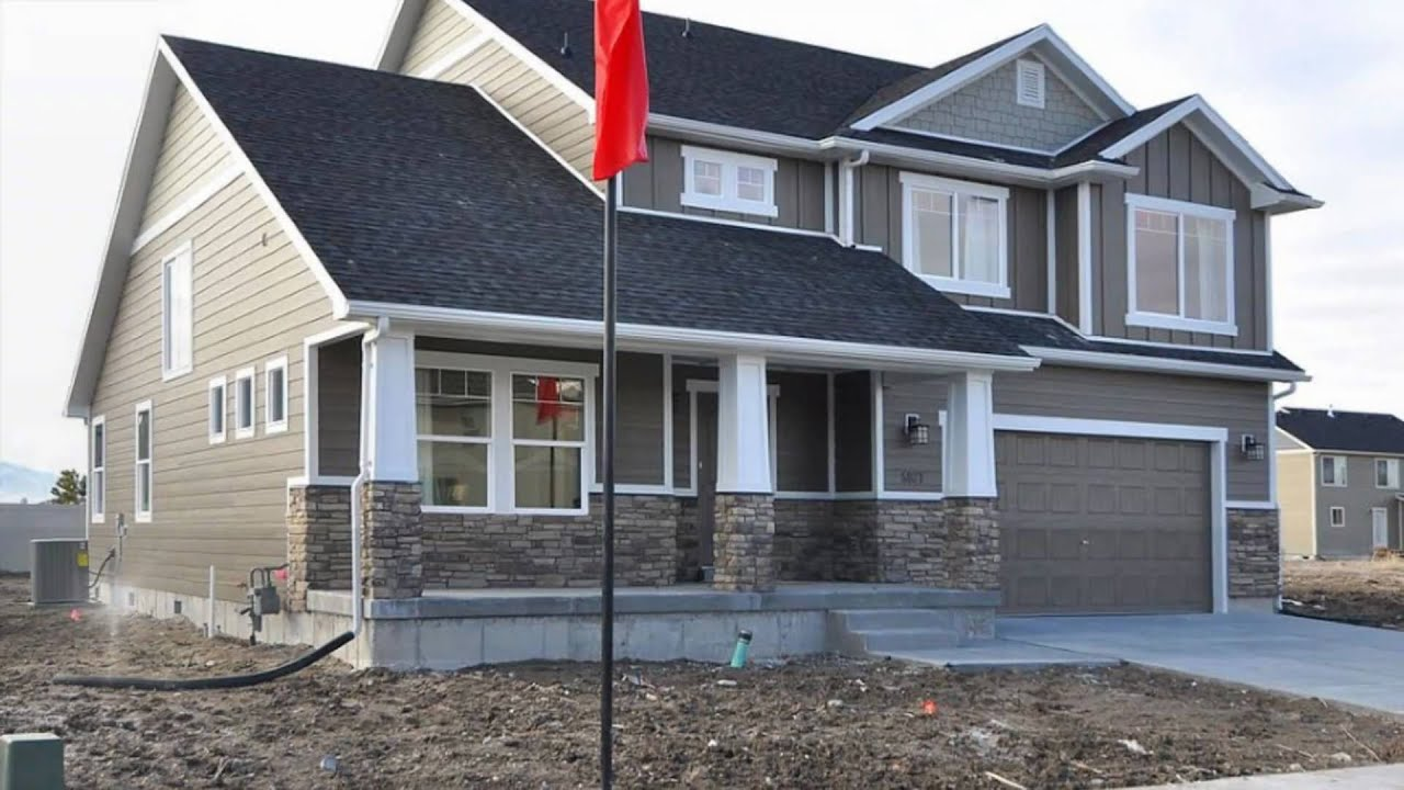 New Homes In Utah By Fieldstone Homes Plan 2610 YouTube