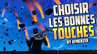 CHOISIR LES BONNES TOUCHES CONSTRUCTION ! FORTNITE BATTLE ROYALE