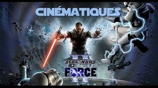 Stars Wars Le Pouvoir de la Force 2 VF Toutes les cinématiques (no gameplay)
