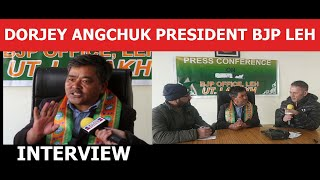 Download lagu Exclusive Interview Dorjey Angchuk BJP President Leh on 6th Schedule