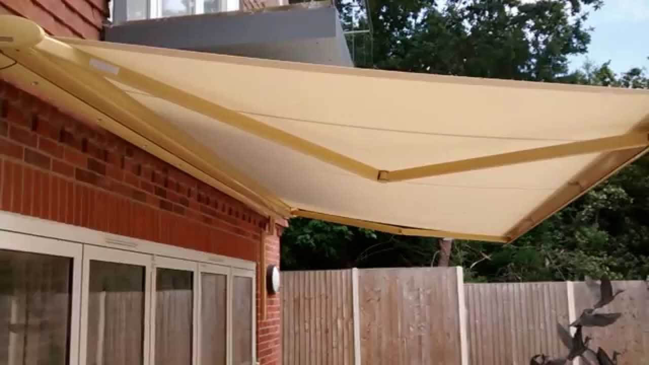 Automated Awning | Premier Blinds & Awnings 01372 377 112 ...
