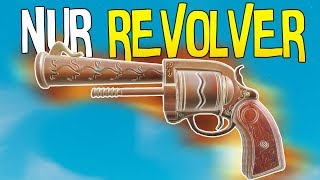 NUR REVOLVER CHALLENGE | Fortnite Battle Royale