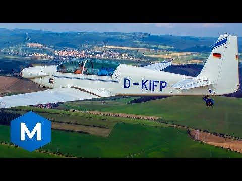 🛪 Aircraftwise.com | Fournier RF-5 (above Lososina Dolna)