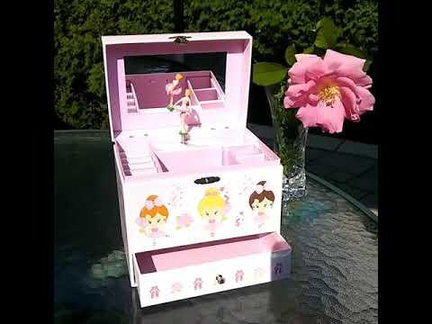 Cardilion: Musical Jewelry Box with Ballerina
