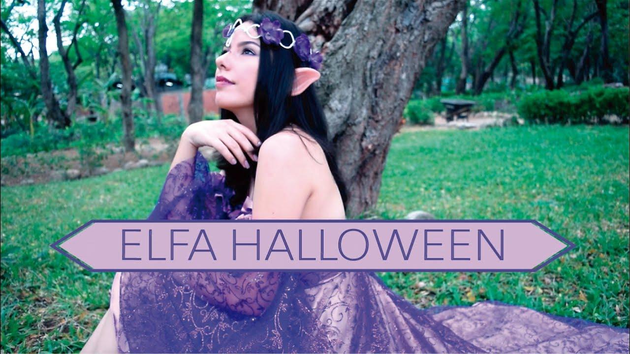 disfraz de elfa para halloween naila londoo youtube - Disfraz De Elfa
