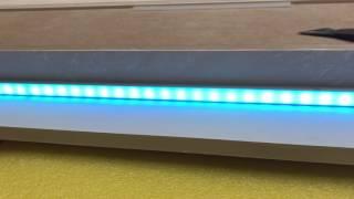 Сборка панелей со светодиодной лентой.