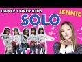 Wow!! JENNIE BLACKPINK - SOLO (KIDS DANCE COVER) TK A Bintang Girls | Nadomar