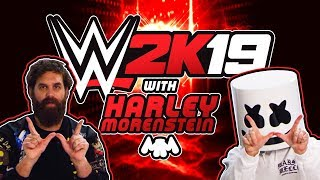 Epic Wrestling Time! Challenging Harley Morenstein in WWE 2K19 | Gaming with Marshmello