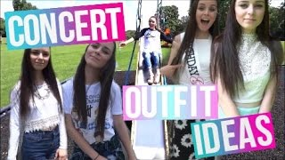 What To Wear To A Concert ♡ Outfit Ideas for Summer Concerts!