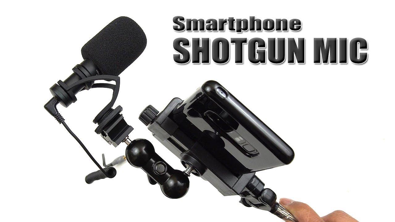 Mic for iphone shotgun Top Mics