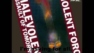 Violent Force - Sign Of Evil (Lyrics)