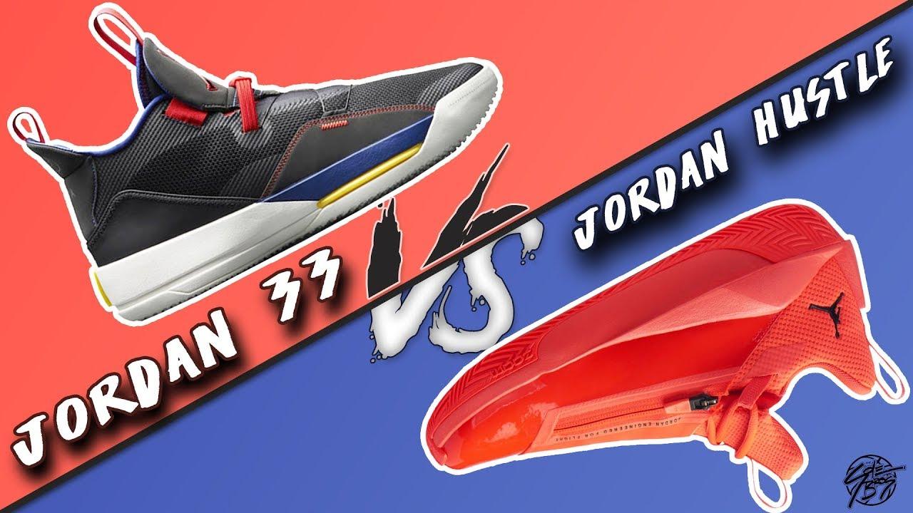 Air Jordan 33 vs Jordan Jumpman Hustle! - YouTube 242414284