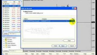 Forex MetaTrader 4 Platform Part 3: Opening a Demo Account . Forex Education . Learn Forex Trading