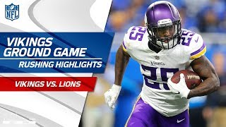 Minnesota's Ground Game Feasts on Detroit's Defense on Thanksgiving! | Vikings vs. Lions | NFL Wk 12