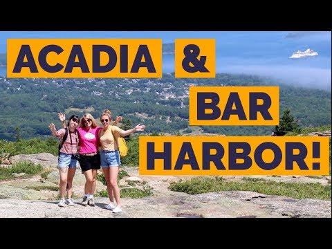Bar Harbor Maine (pt. 2) | Acadia National Park | Lumberjack Show! | Full Time RV Living!