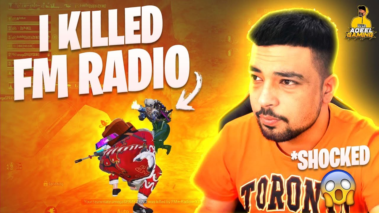 ?I KILLED @FM Radio Gaming AND THIS IS HIS REACTION ?? / PUBG MOBILE
