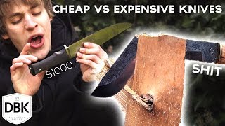 BUDGET VS PREMIUM KNIVES | Which do you need?