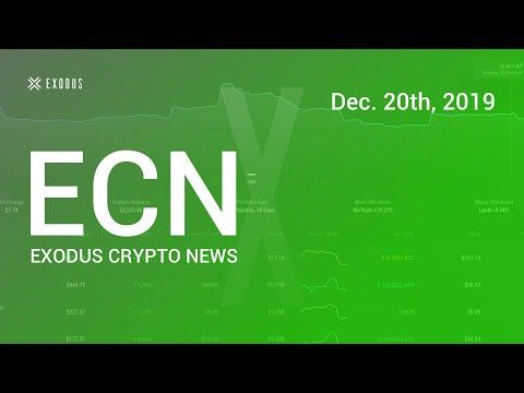 Exodus Crypto News Dec. 20th, 2019 Did Plustoken coins crash the Market?
