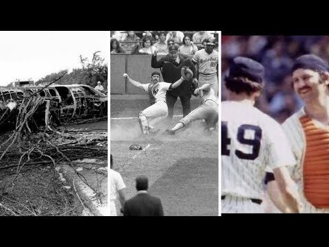 Thurman Munson dies tragically in a plane crash