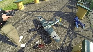 Flight Test Focke Wulf FW190 RC