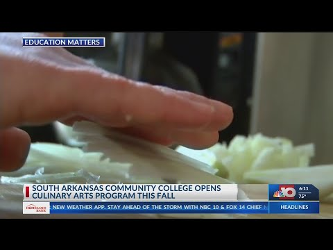 South Arkansas Community College opens Culinary Arts program this fall